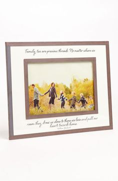 Ben's Garden 'Family Ties Are Precious' 5x7 Picture Frame available at #Nordstrom