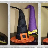 Witch Hats how to (decorative only)