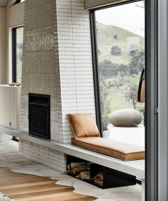 """How To Make Your Tile Look Really Special Without Being Dated In 10 Years - New Classic Tile """"Trends"""" That I'm LOVING - Emily Henderson Design Studio, House Design, Interior Architecture, Interior And Exterior, Interior Design, Futuristic Architecture, Interior Decorating, Fireplace Mantels, Fireplaces"""