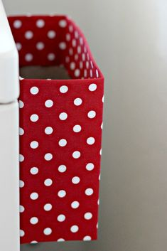 SPACE SAVER: cereal box covered in fabric w/ magnets on back to hang on dryer for disposing of lint Laundry Closet, Laundry Room Organization, Laundry Area, Laundry Rooms, Small Laundry, Kitchen Organization, Kitchen Storage, Organization Ideas, Bathroom Bin