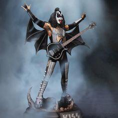 Best Rock Bands, Cool Bands, Kiss Merchandise, Gene Simmons Kiss, Kiss World, Kiss Members, Vinnie Vincent, Eric Carr, Kiss Art