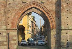 Porta Maggiore, one of the twelve medieval city gates of Bologna.