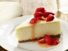 Low-Fat Cheesecake from FoodNetwork.com