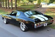 1971 CHEVROLET CHEVELLE SS #classiccarschevroletchevelle #Chevroletchevelle