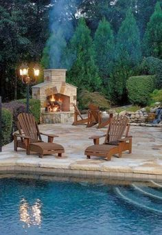 Outdoors patio.....one day