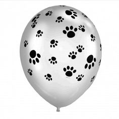 Paw Print Latex Balloons - Each - Kids Themed Party Supplies Paw Patrol Party Supplies, Paw Patrol Birthday Theme, Qualatex Balloons, Printed Balloons, Kids Party Themes, Puppy Party, Party Stores, Party Packs, Celebration
