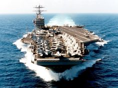 US Navy Aircraft Carrier 'George Washington'