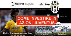 Come investire in azioni Juventus FC e Roma AS in tempo reale - Binary Option Europe  #azioniJuventus #azioniRoma