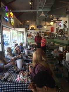 Enjoying A Meal At The Flying Fish In Bentonville Ar Visitarkansas Arkansas