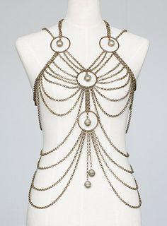 Body Chain Harness, Tribal fusion belly dance
