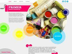 Moonfruit Template - Primer #website #design