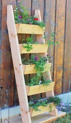 5 tier planter box