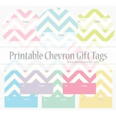 Tons of free gift tag templates!