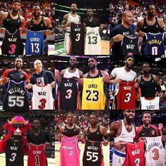 Miami Heat Basketball, Nba Miami Heat, James Wade, Best Nba Players, Dwyane Wade, Sport Inspiration, Highlights, Shirt Designs, Design Ideas