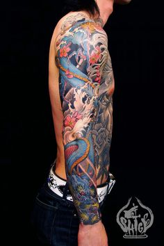 Dragon sleeve #tattoo #ink