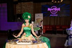 Roaming Table from Epic Entertainment during The Smart Mart at Hard Rock Hotel San Diego - Photo by Regala Studio