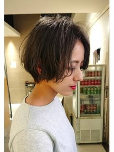 【Euphoria】低温デジタルパーマショート☆担当 毛利☆ Hair, Style, Swag, Strengthen Hair, Outfits
