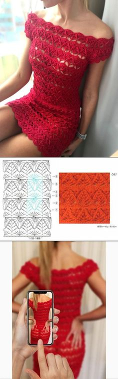 Cro (Mary) Dress - Knitting - Country Mom - Must have image updates - Crochet Stitches Patterns, Crochet Designs, Crochet Braids, Knit Crochet, Knit Baby Dress, Knitting Magazine, How To Start Knitting, Chrochet, Crochet Clothes