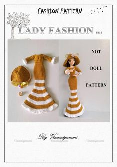 Double Crochet, Single Crochet, Crochet Dolls Free Patterns, Valley Of The Dolls, Yarn Sizes, New Dolls, Crochet Clothes, Clothing Patterns, Crochet Hooks