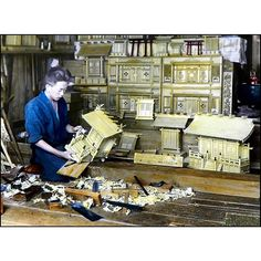 A photo of a shrine maker from T. Enami's collection of Japan life during the late 19th century and the beginning of the Meiji Restoration  #tenami #EnamiNobukuni #江南信國 #歴史 #日本 #幕府 #幕末 #将軍 #japan #japanesehistory #history #bakufu #bakumatsu #明治時代 #MeijiRestoration (by samurai_tamashii)