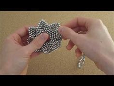 TUTORIAL Octagonal Flower (Zen Magnets) - YouTube