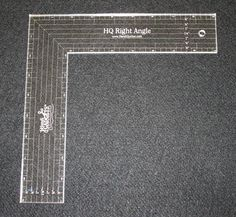 Handi Quilter Right Angle Ruler