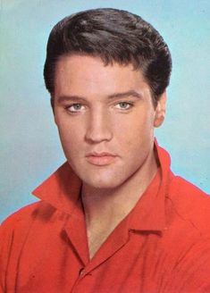 Elvis Presley.  A George Vreeland Hill Pinterest post.
