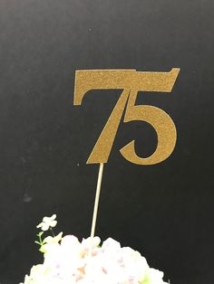 Excited To Share The Latest Addition My Etsy Shop 75th Birthday Party Decorations