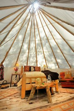 Tune Up Your Place with Teepees | Dornob