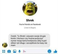 Polish Memes, Weekend Humor, Shrek, Wtf Funny, Nom Nom, Haha, Maine, Instagram, Paper