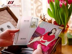 BOSS MA VIE Pour Femme Embraces Modern Femininity ~ Strong, Feminine, Independent. BOSS MA VIE Pour Femme Eau de Parfum, a unique fragrance inspired by the modern Cactus Flower accord.....  #hugoboss #perfume #fragrance #eaudeparfum #festive #xmas #christmas #gifts #shopping #bossmavie #luxuryhaven #designer #fashion #lifestyleblogger #sgblogger #pink #scent