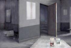 "Mania Efstathiou, ""Solitude, a Kind of Companion"", digital collage printed on plexiglas Digital Collage, Solitude, Plexus Products, Printed, Prints"