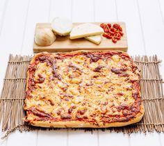 Cómo hacer pizza de cebolla y provolone en Thermomix - Thermomix por el mundo