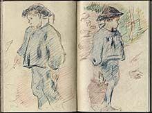 Paul Gauguin sketchbook