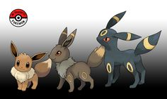 """maswartz: """" inprogresspokemon: """" #133.55 - While most Eevee are diurnal, the great variation in their genetic code allows for some individuals to be nocturnal. It is said that the light of the moon on..."""