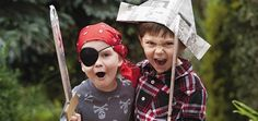 A brilliant Pirate themed treasure hunt for kids aged 5 and up — How to Run a Kids Party