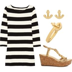 I think I like stripes just as much as LeAnne. I especially can't turn down anything nautical.