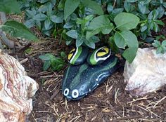 Add Whimsy to Your Garden with Painted Rock Critters