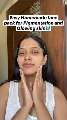 Homemade Face Pack, Homemade Skin Care, Diy Skin Care, Skin Care Tips, Organic Skin Care, Natural Skin Care, Beauty Tips For Glowing Skin, Diy Face Mask, Face Masks