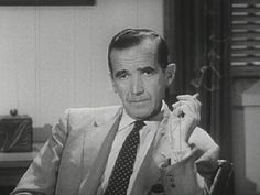 Edward Morrow- The Father of Journalism. He took on Joe McCarthy at the height of his power, and brought an end to the Red Scare.