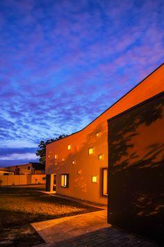 """The House with Coloured Lights"". Architects: Andreescu & Gaivoronschi; location: Timisoara, Romania; photo credit: Ovidiu Micsa"