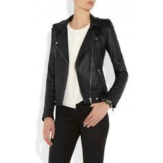 New Women's Leather Motorcycle Biker Jacket 100% Genuine Soft Lambskin #N118 #NationalLeather #MotorcycleBomber