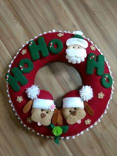 Easy Homemade Christmas Gifts, Christmas Crafts To Make, Homemade Christmas Decorations, Felt Decorations, Felt Christmas Ornaments, Christmas Sewing, Christmas Projects, Christmas Fun, Holiday Crafts
