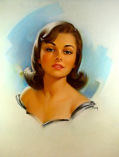 by Pearl Frush Vintage pin-up girl. #vintagepinupgirl #pinupgirls #vintage Have fun! - XOXO, Jomadado.com