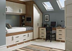 Espirit Cream Bedroom   Fitted Bedrooms from Betta Living