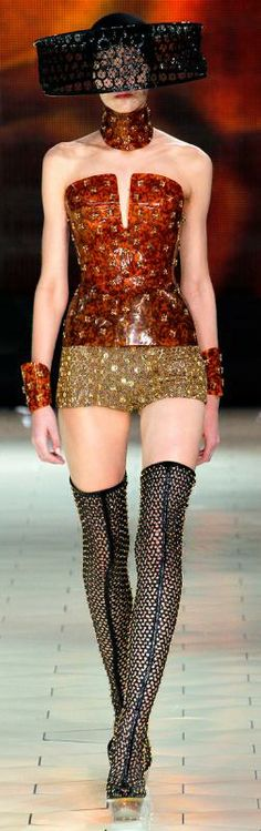Alexander McQueen Spring 2013 Haute Couture ♥