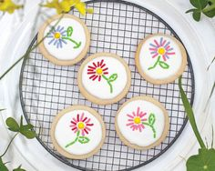 Embroidered Sugar Cookie Recipe