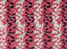 Folium fabric in Strawberry. #Folium #villanovafabric