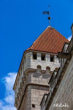 Kuressaare castle tower, Saaremaa island, Estonia