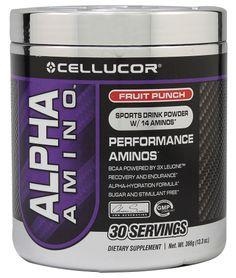 Cellucor Alpha Amino™ Performance Aminos Fruit Punch -- 13.3 oz